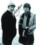 Frazer Hines Signed 10 x 8 hand signed